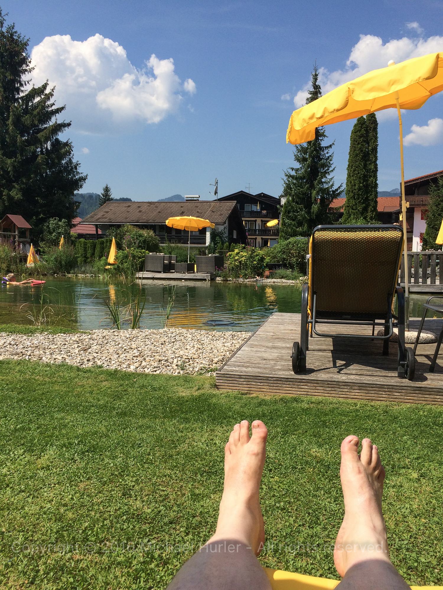 13.08.2015, Oberstdorfurlaub, Relaxarbeitstag - und das im Urlaub