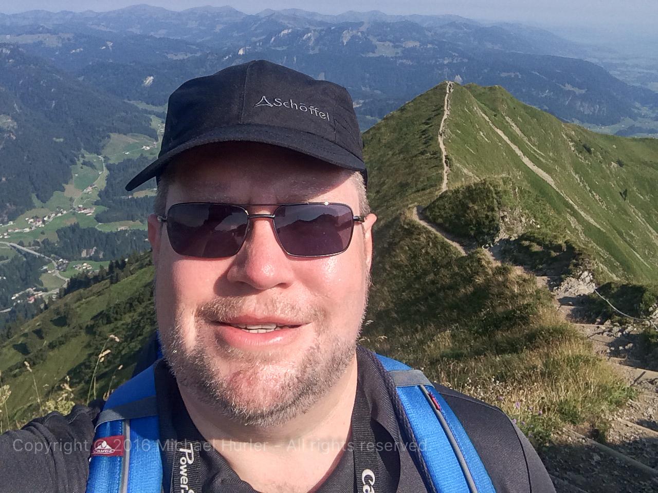 14.08.2015, Oberstdorfurlaub, Über den Fellhornrücken