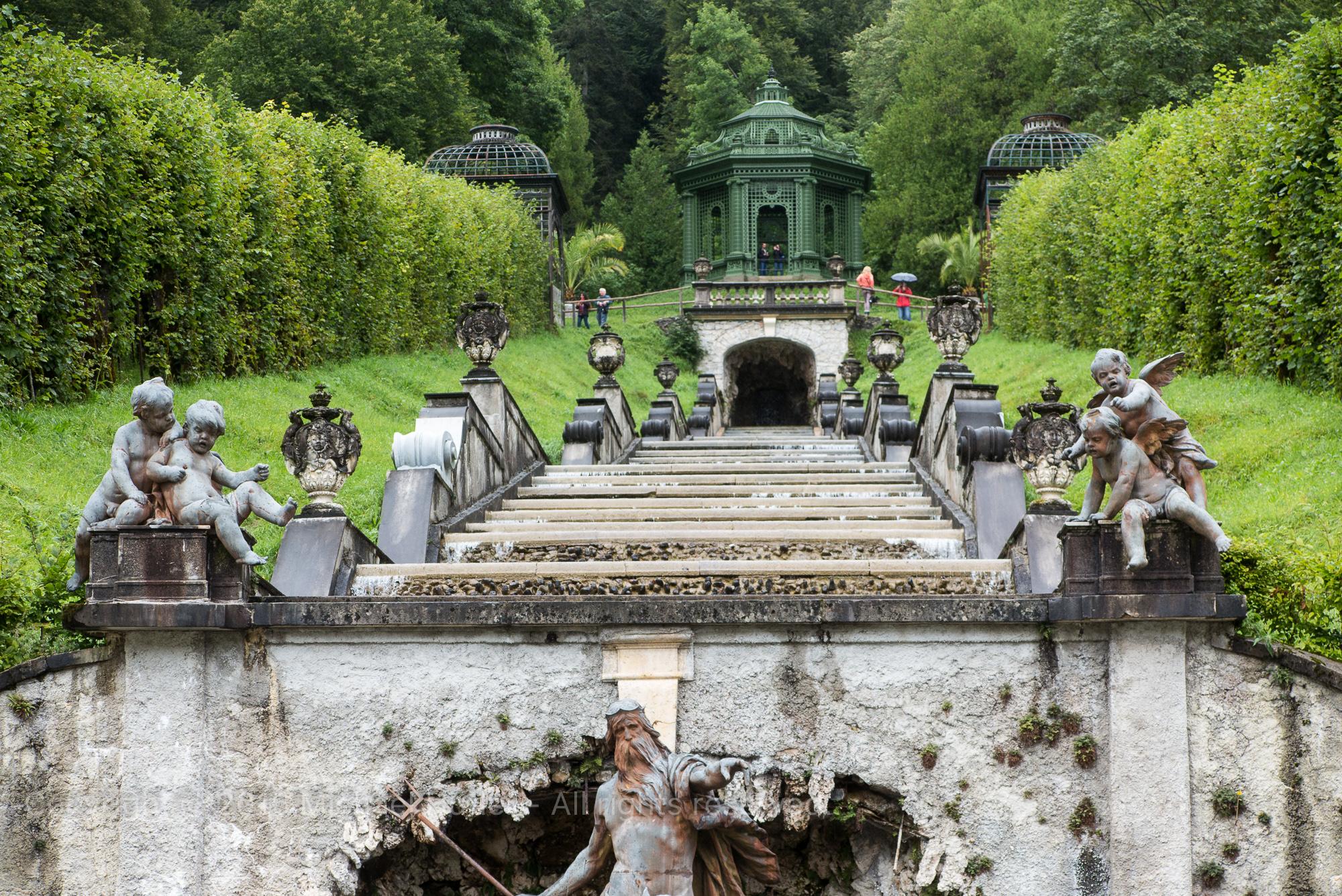 17.08.2015, Oberstdorfurlaub, Schloss Linderhof