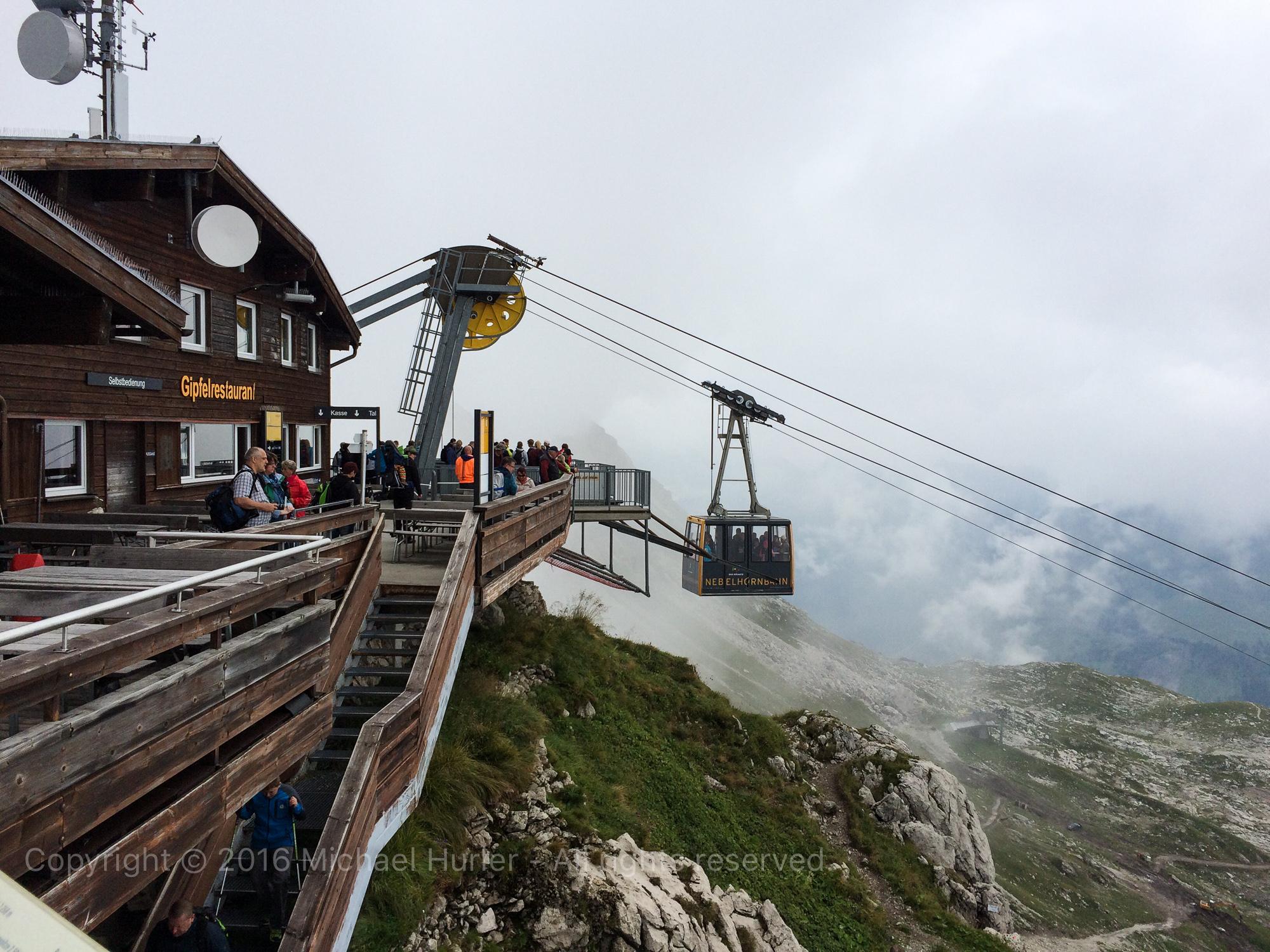 .., Oberstdorfurlaub, Auf dem Nebelhorn