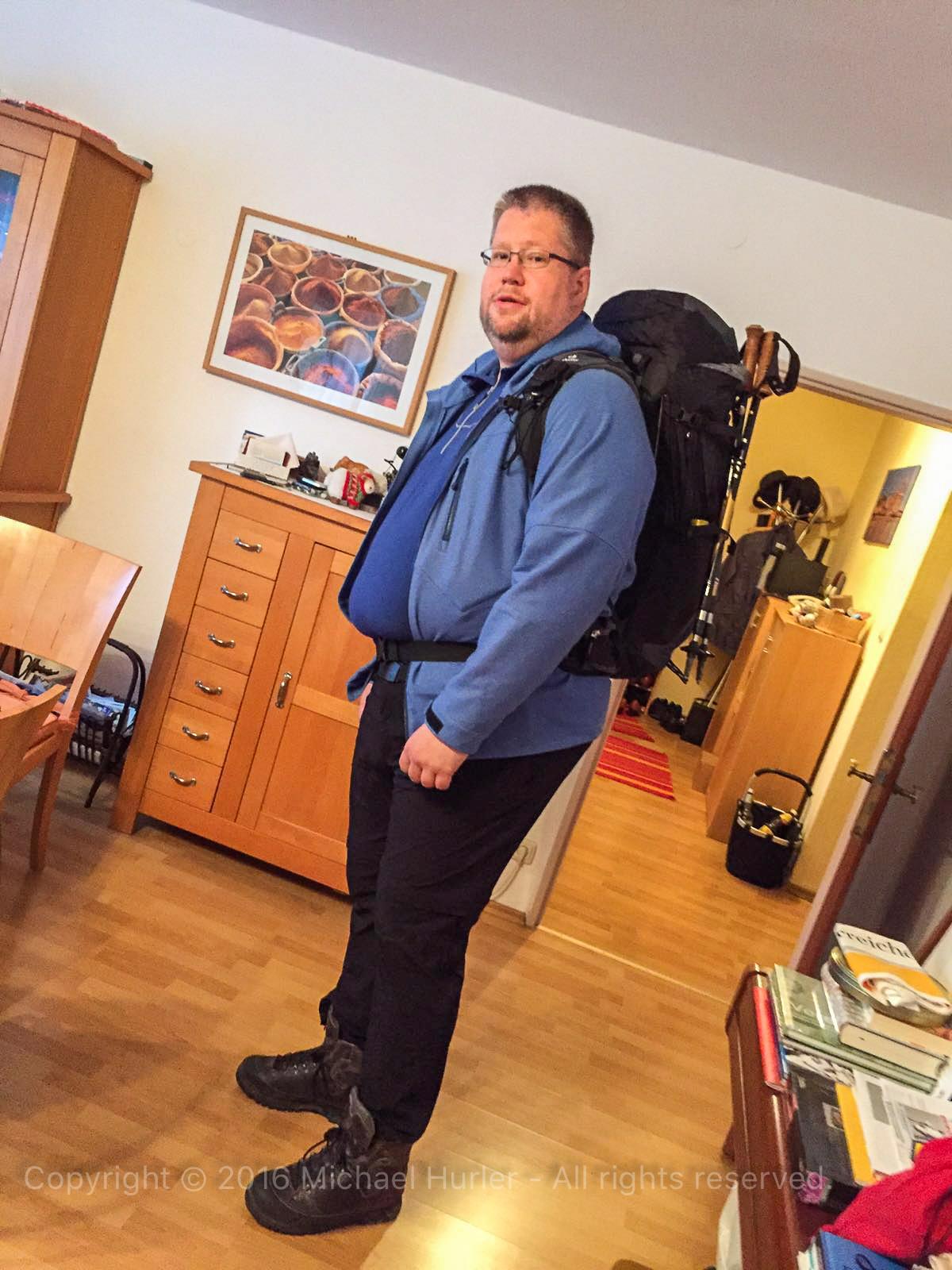 .., Bärentrek - Von Mürren nach Kandersteg, Abreise zum Bärentrek