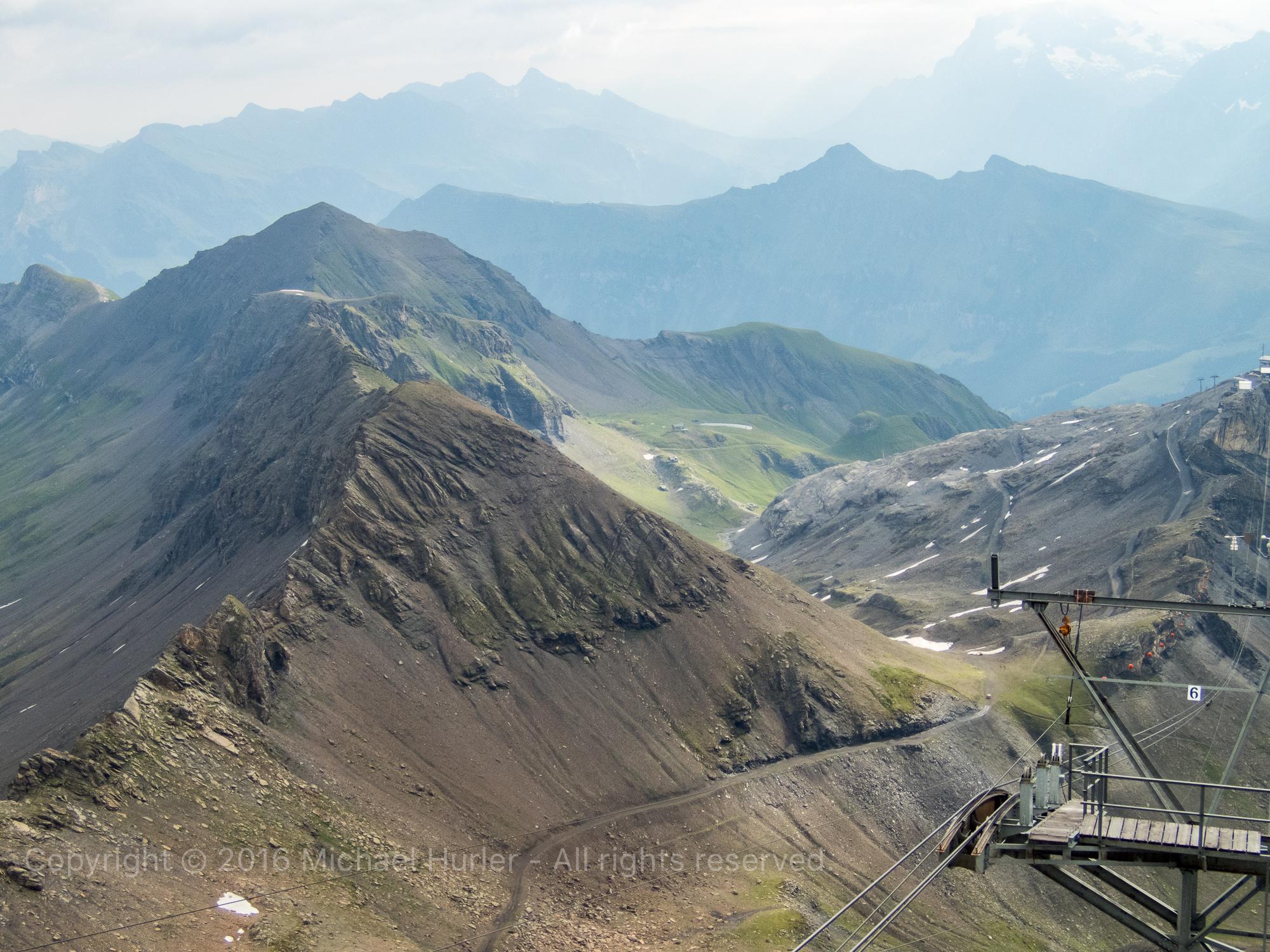 18.08.2016, Bärentrek - Von Mürren nach Kandersteg, Schilthorn