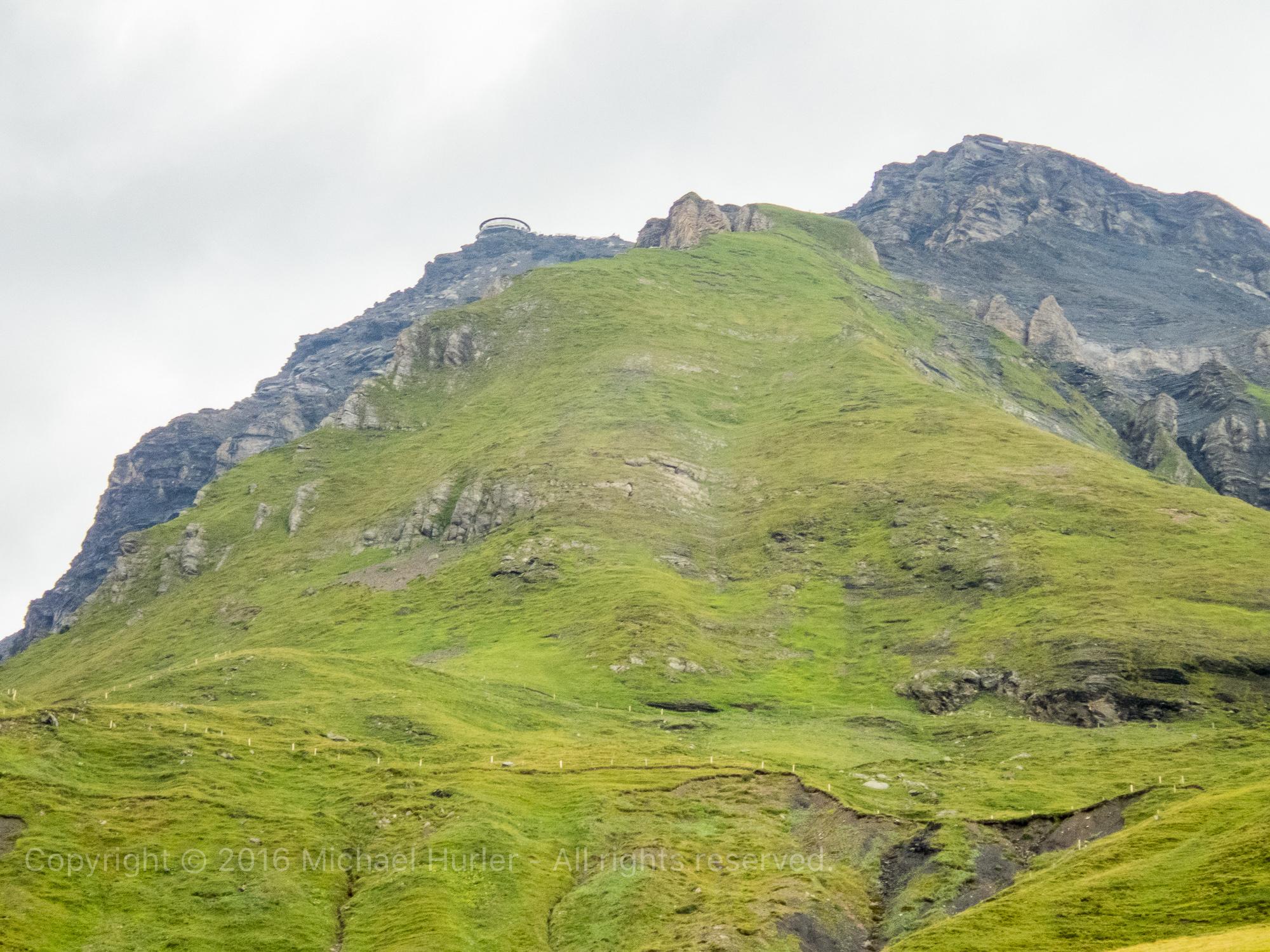 18.08.2016, Bärentrek - Von Mürren nach Kandersteg, Von Mürren zur Rotstockhütte
