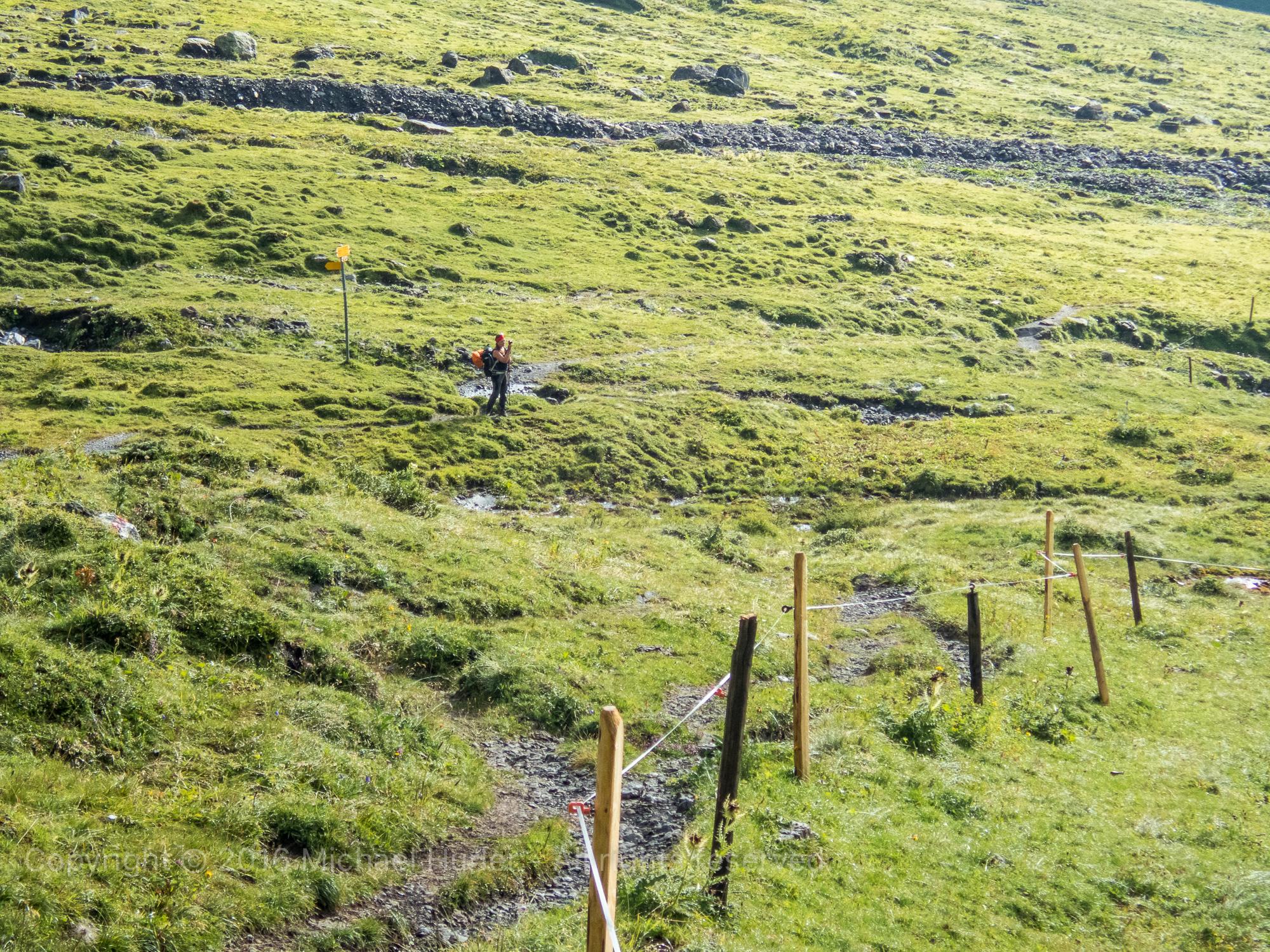 19.08.2016, Bärentrek - Von Mürren nach Kandersteg, Von der Rotstockhütte zur Sefinenfurrge