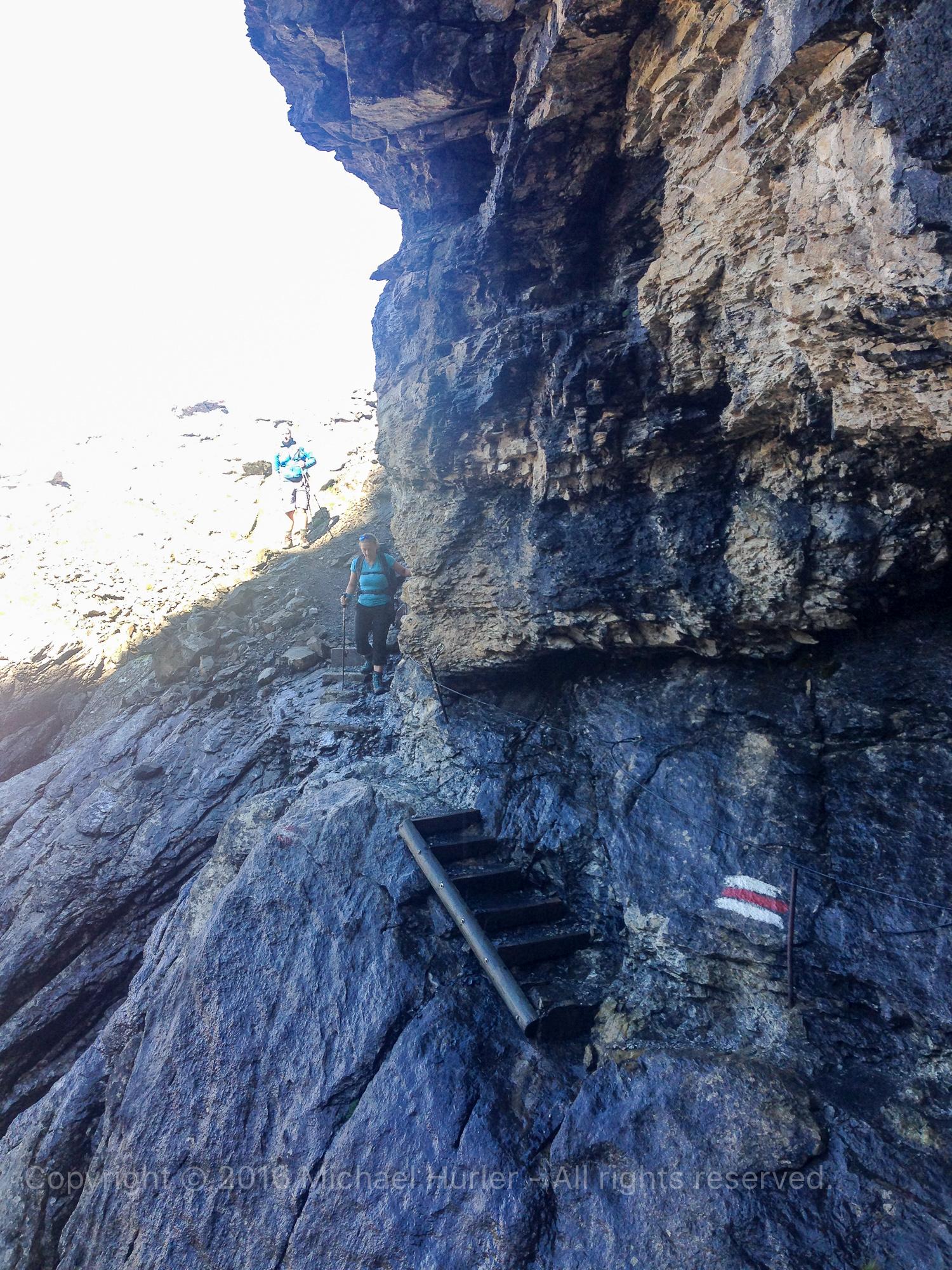 19.08.2016, Bärentrek - Von Mürren nach Kandersteg, Von der Sefinenfurrge zur Gspaltenhornhütte
