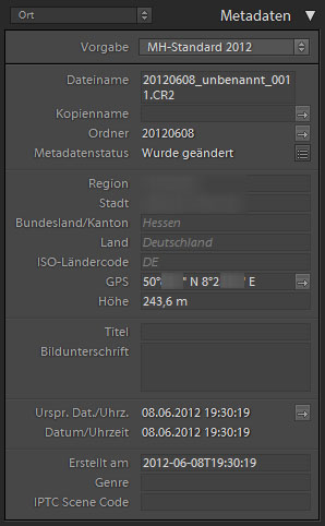 Lightroom - Fotos sind getagged
